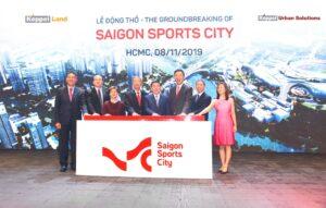 Lễ bấm nút động thổ khởi công dự án Saigon Sport City
