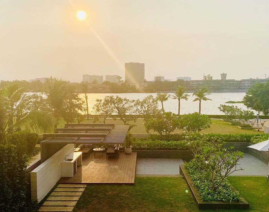 View thực tế biệt thự Holm Residences Thảo Điền
