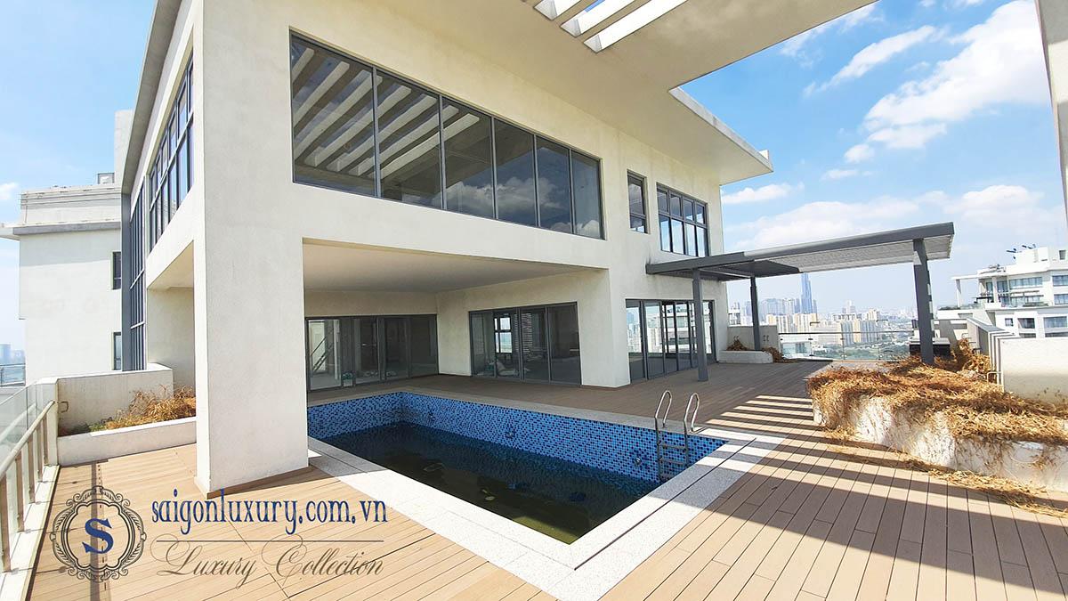 Penthouse Đảo Kim Cương với thiết kế đặc biệt và độc nhất tại Sài Gòn