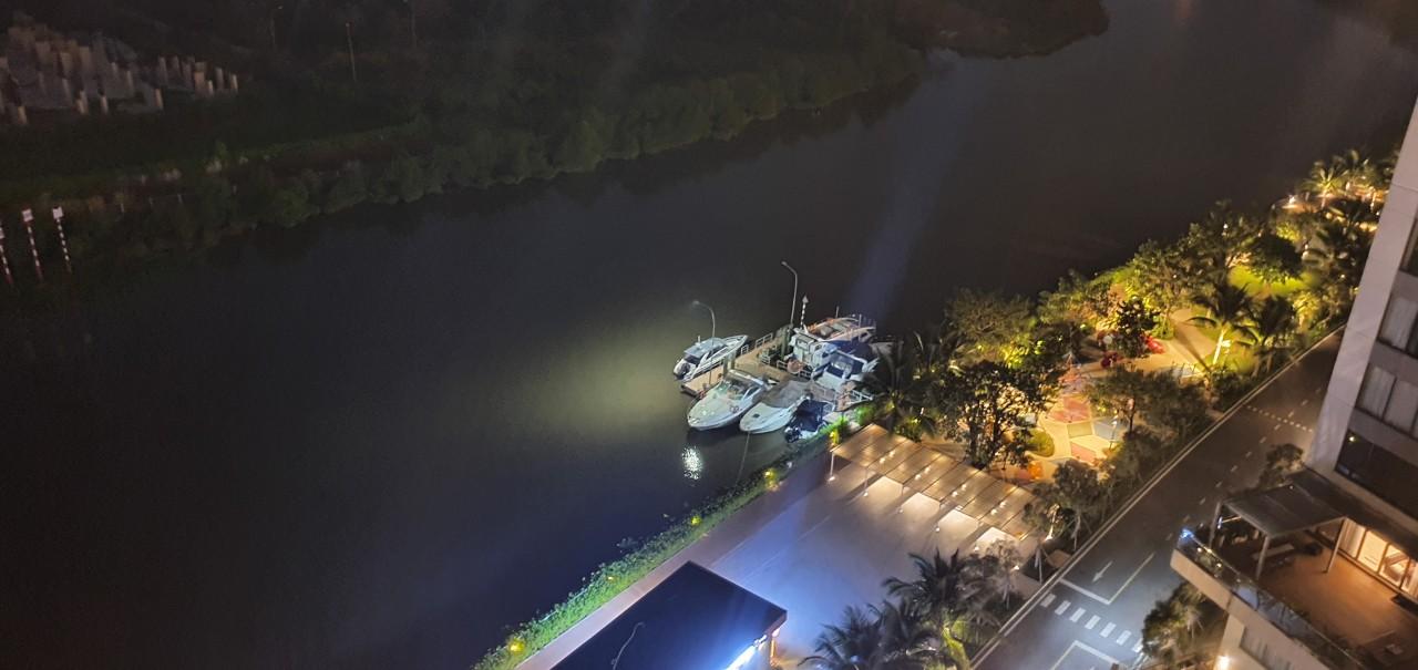 Thực tế bến du thuyền tại Đảo Kim Cương, Quận 2